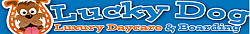 Lucky Dog Luxury Daycare & Boarding Logo